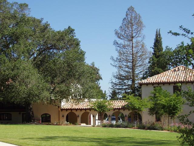 Dream home in Los Altos Hills mediterranean-exterior