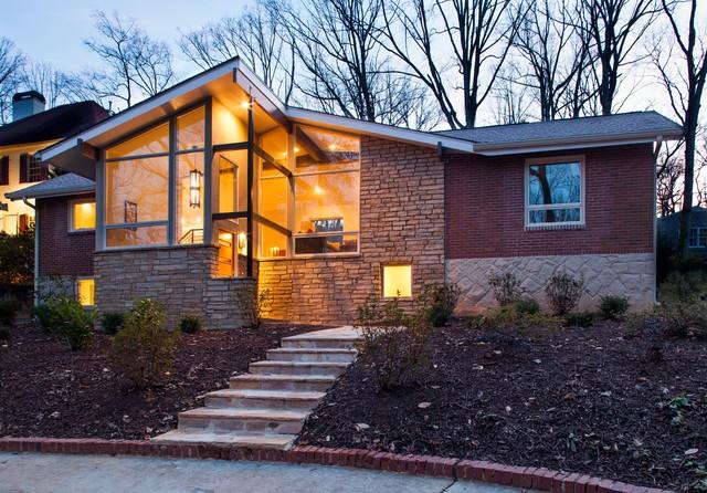 Druid Hills Mid Century Modern Midcentury Exterior Atlanta