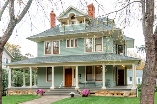 Choosing exterior paint colors town country living Outside house
