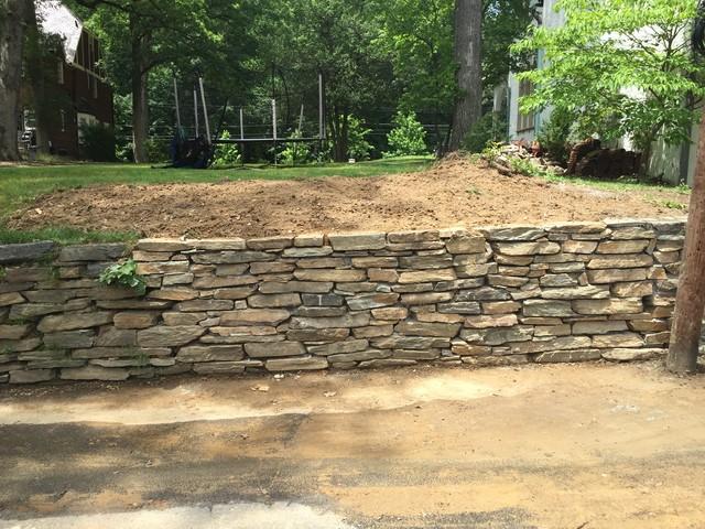 Field Stone Retaining Wall Repair on Colorado Ave Washington DC rustic ...