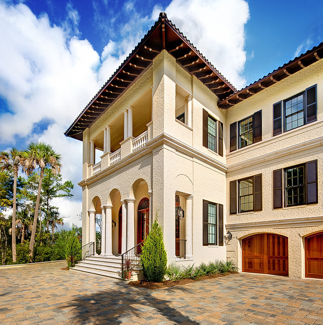 Exterior Pictures Of Mediterranean Style Homes Cities: Dunes West Exterior