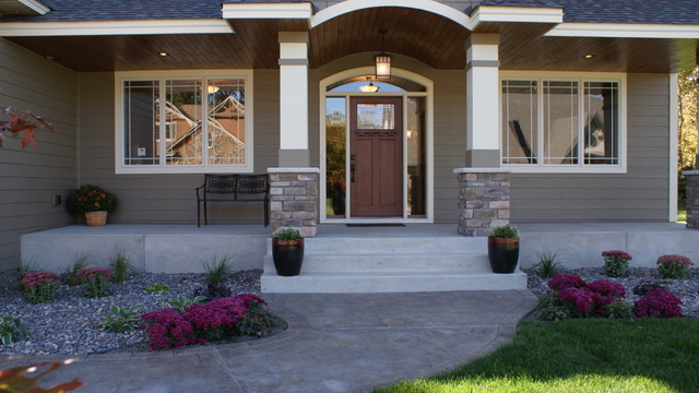 Dunlavin Woods Two Story Home Traditional Exterior