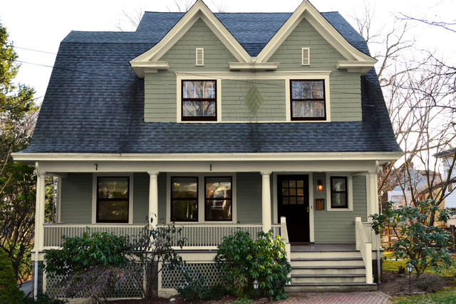 Dutch Colonial Paint Colors - Exterior - New York - by Old House Guy LLC