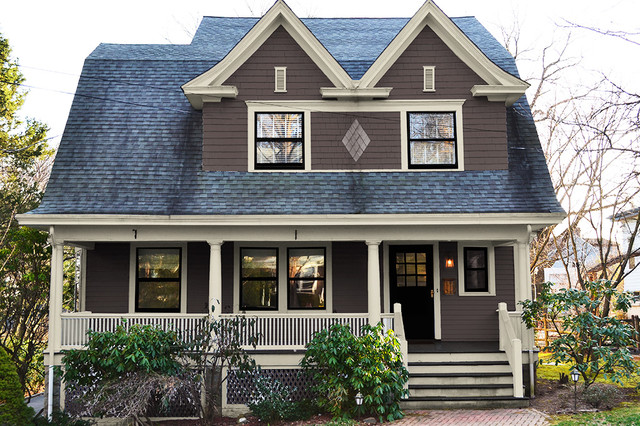 Dutch Colonial Paint Colors Traditional Exterior New York By