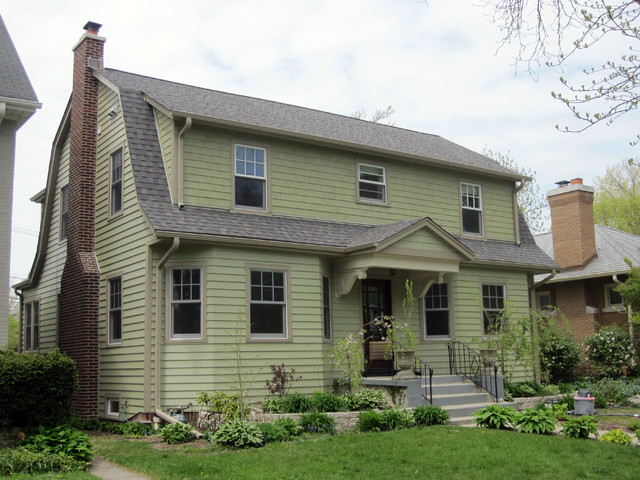 Dutch Colonial Style Home Evanston Il James Hardie