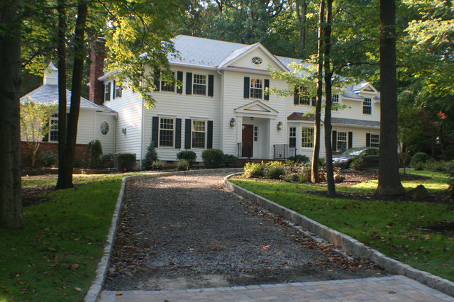 dutch colonial to federal traditional-exterior