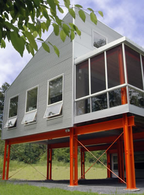 Dwell-ing contemporary-exterior