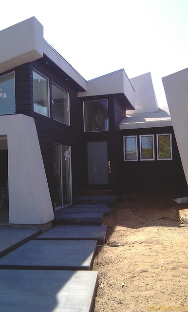 Dynamic Architecture, an existing home, designed and built by rgbjr modern-exterior