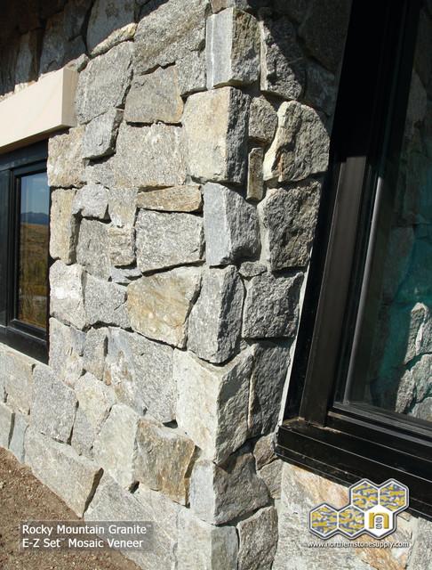 E Z Set Natural Stone Veneer Granite Mosaic Exterior