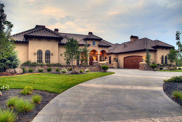 eagle custom 4 mediterranean exterior boise by tradewinds general contracting inc On 4 exterior inc