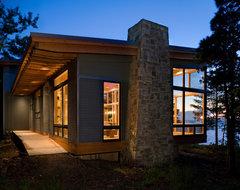 Eagle Harbor Cabin modern-exterior