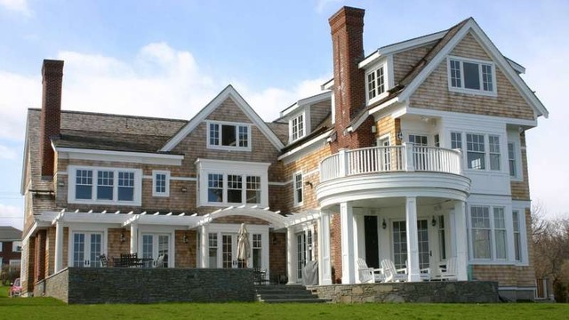 Eagle windows craftsman exterior dc metro by for Best replacement windows for log homes