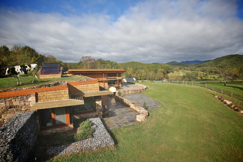 Earthship Farmstead in Virginia