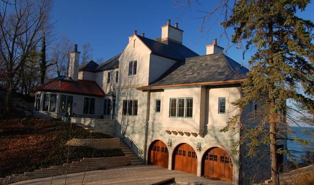 East Facade traditional-exterior