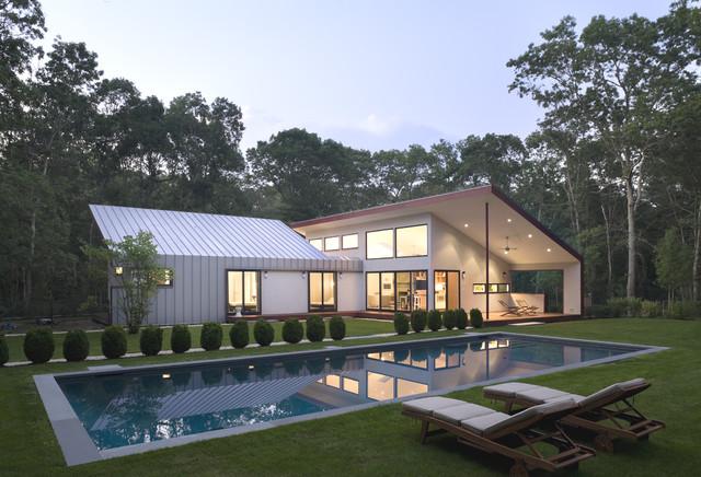 East Hampton House 11937 contemporary-exterior