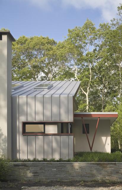 East Hampton House contemporary-exterior