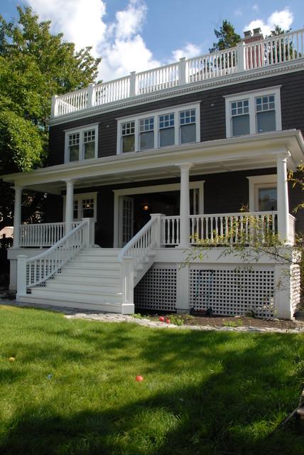 East Vancouver Edwardian Home Restoration Traditional