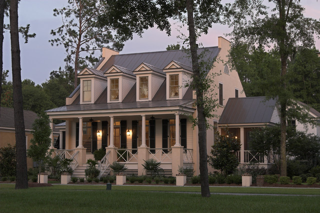 Eastover Cottage Traditional Exterior Charleston By Watermark Coastal Homes Llc
