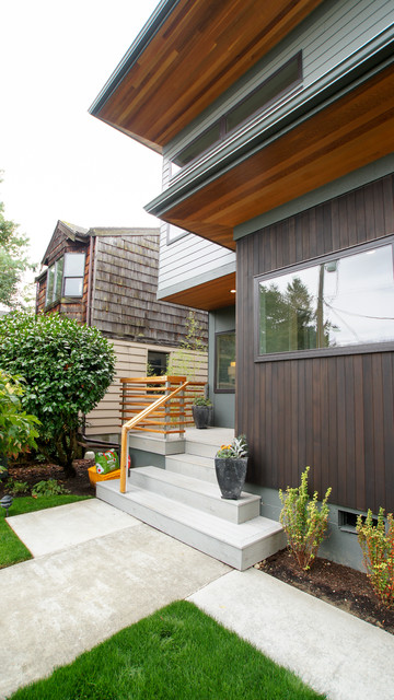 Eave House Contemporary Exterior Seattle By