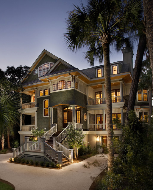 Eclectic Exterior beach-style-exterior