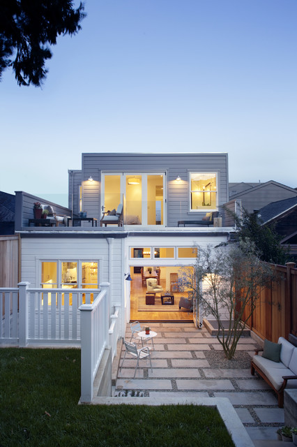 eco+historical Victorian Update contemporary-exterior