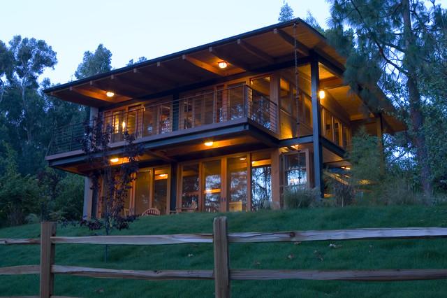 Eco Retreat rustic-exterior
