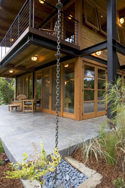 Eco Retreat contemporary-exterior