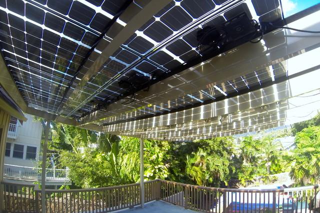 EcoShade Solar Roof tropical-exterior