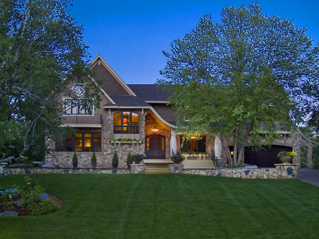 Edina Country Club Custom Designed Home modern exterior