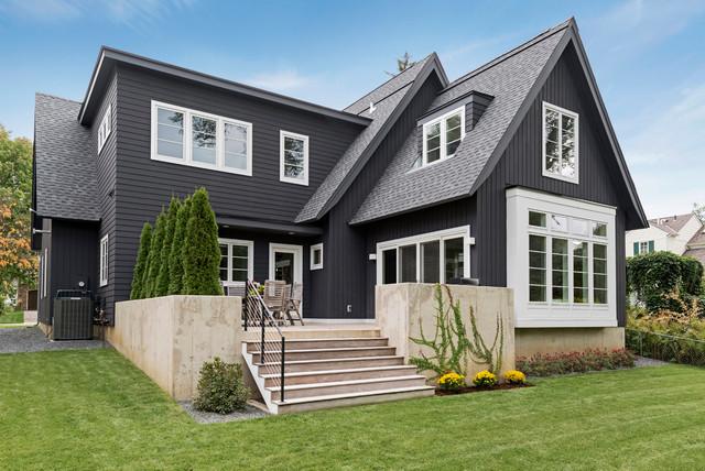 Edina modern scandinavian scandinavian exterior for Scandinavian house design