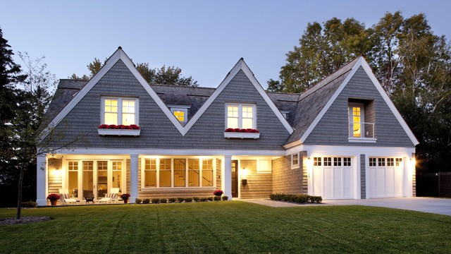 Contemporary Shingle Style Residence contemporary exterior