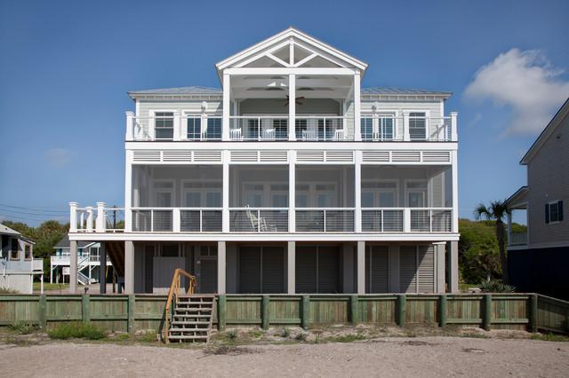 edisto beach house - beach style - exterior