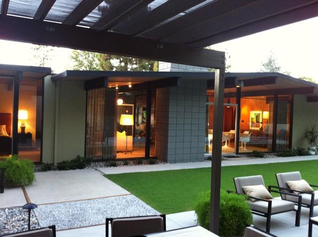 Eichler Home Modern Exterior Orange County