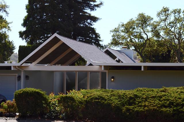 Eichler Home Marin County Modern Exterior San