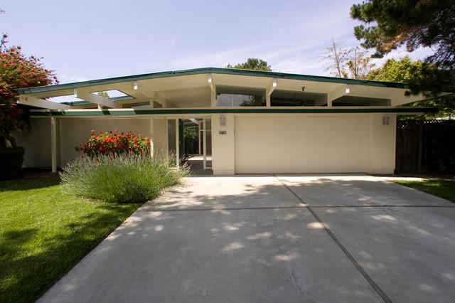 Eichler Kitchen amp Garage Midcentury Exterior San