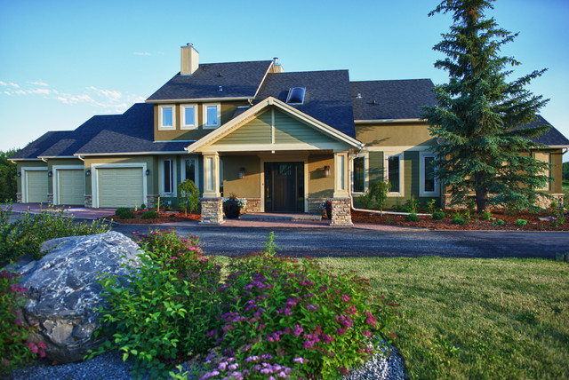 Elbow Valley Exterior Renovation Traditional Exterior Calgary By Www