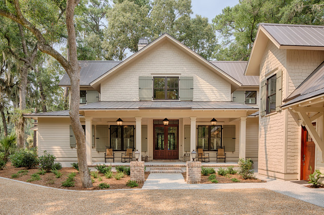 Farmhouse Exteriors eleanor - low country farmhouse - farmhouse - exterior - grand