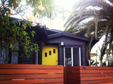 contemporary exterior Houzz Tour: Thrifty TLC Transforms a Beach Bungalow (18 photos)