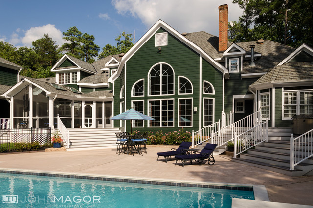 Elegant Residence Traditional Exterior Richmond By