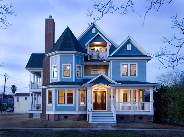 Elevations traditional-exterior