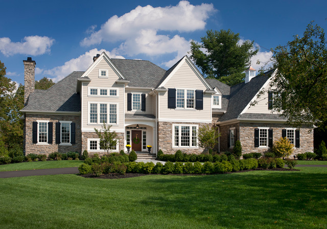 Elevations Traditional Exterior Philadelphia By