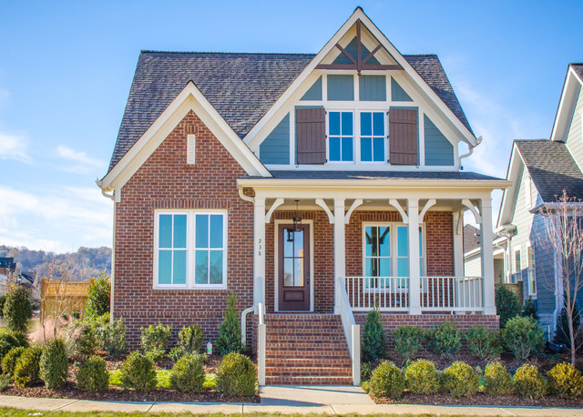 Elevations Traditional Exterior Nashville By Slc