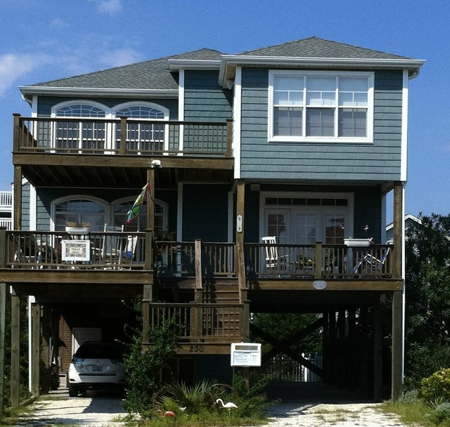 Elevator Additions Beach Style Exterior Other By