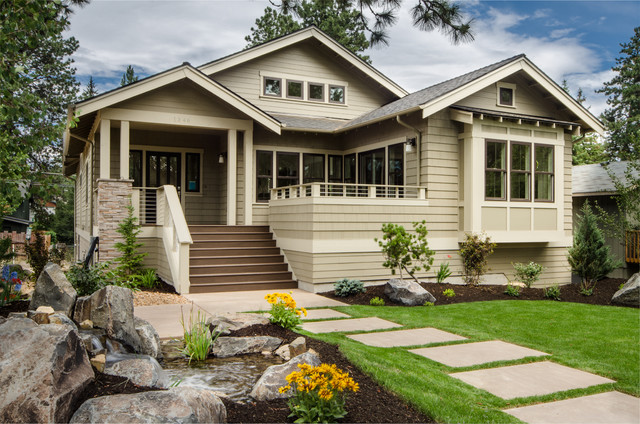 Elgin craftsman exterior portland by christian for Small house design houzz