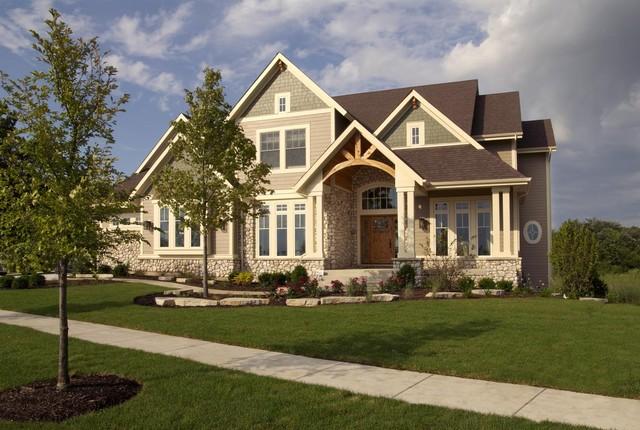 Elgin Showcase Home craftsman-exterior