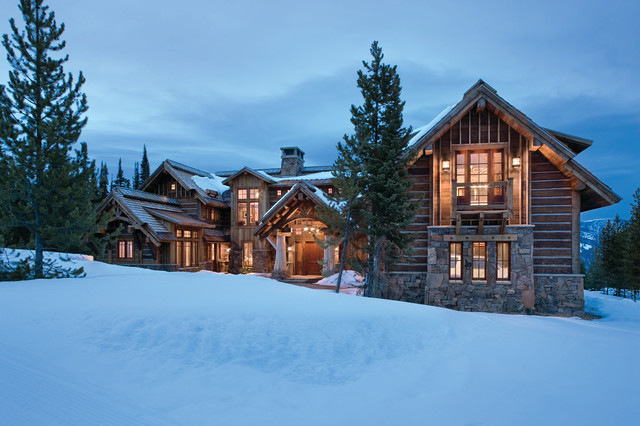 Elk Ridge Lodge Rustic Exterior Other By Centre