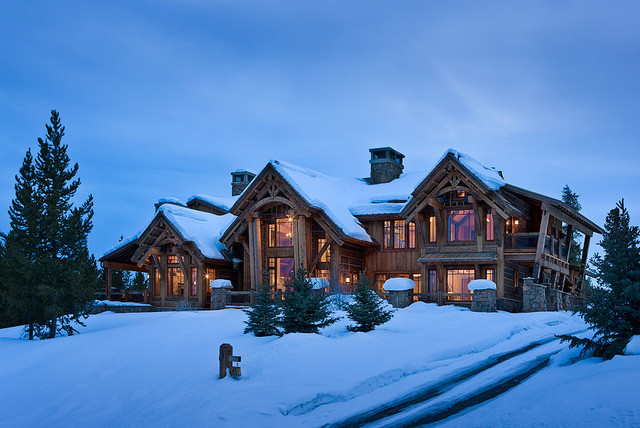 Elk Ridge Lodge traditional-exterior