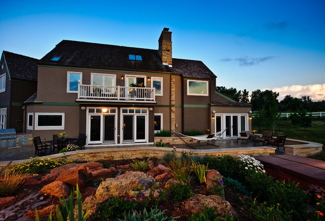 Ellison Residence traditional-exterior