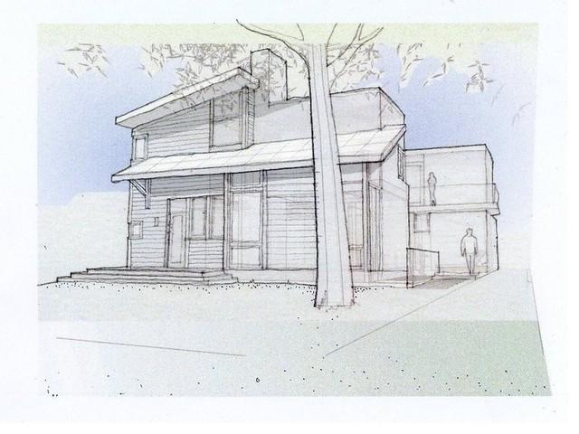 Elmhurst Back contemporary-exterior