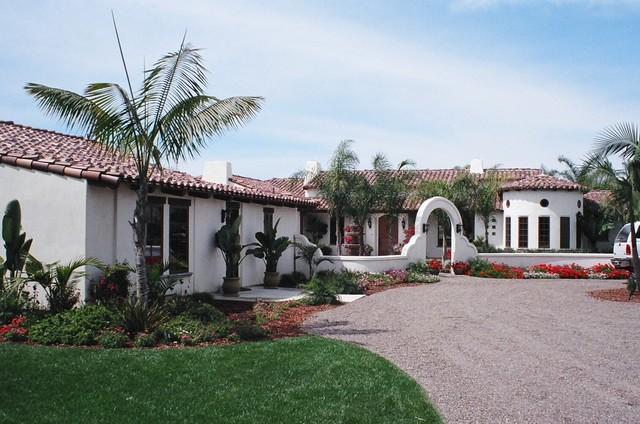 Encinitas CA Spanish Courtyard Mediterranean